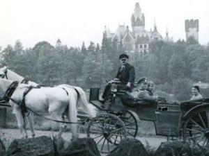 Kutschfahrten zum Drachenfels anno 1942.