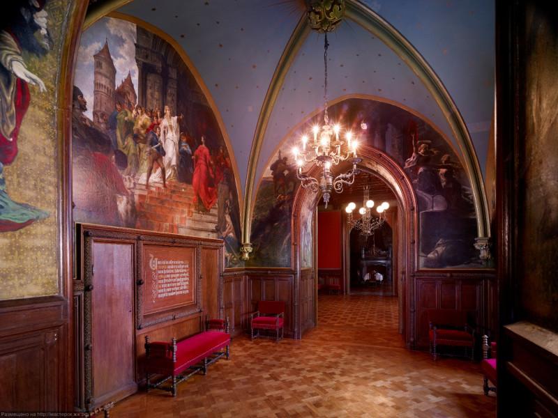 Drachenburg_Nibelungenzimmer