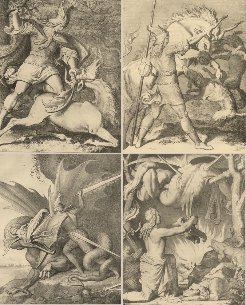 Nibelungen_Kaulbach, Wilhelm_ 1843