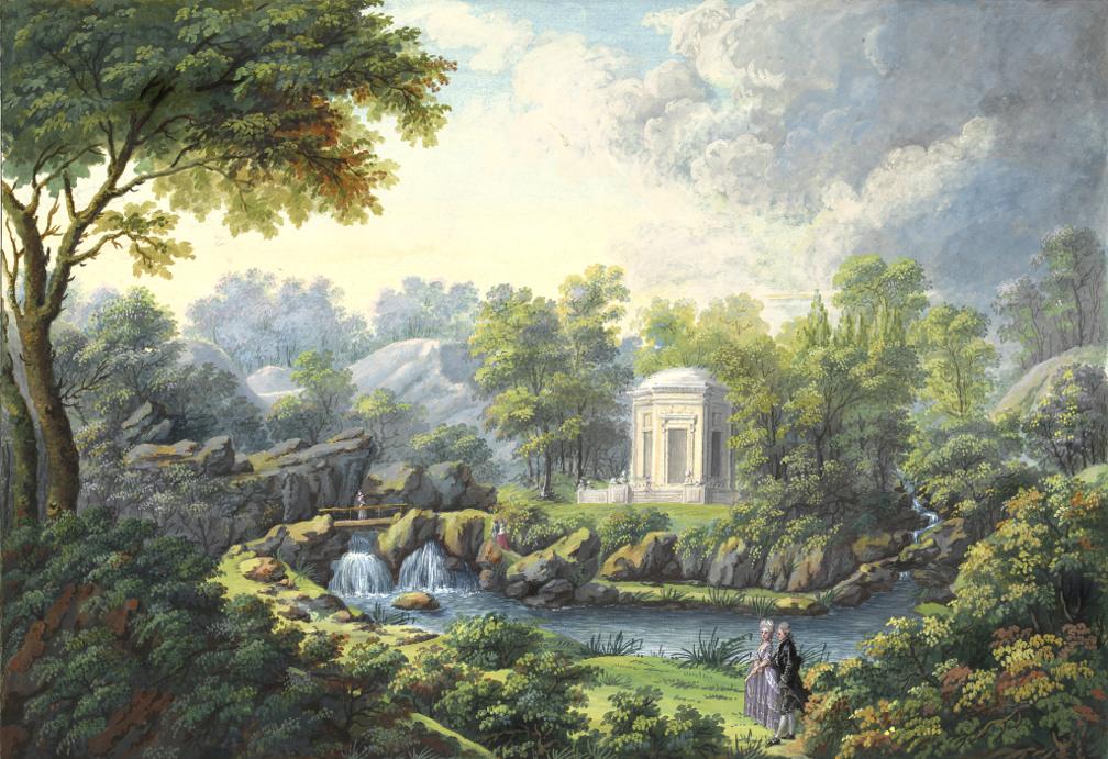 Le-Petit-Trianon_Claude-Louis Châtelet