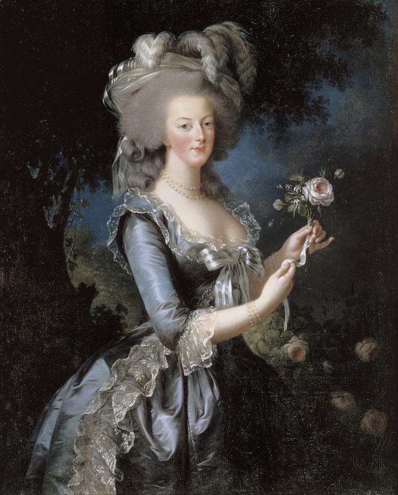 Portrait of Marie-Antoinette Versailles Dated 1783 by Vigée-Le Brun
