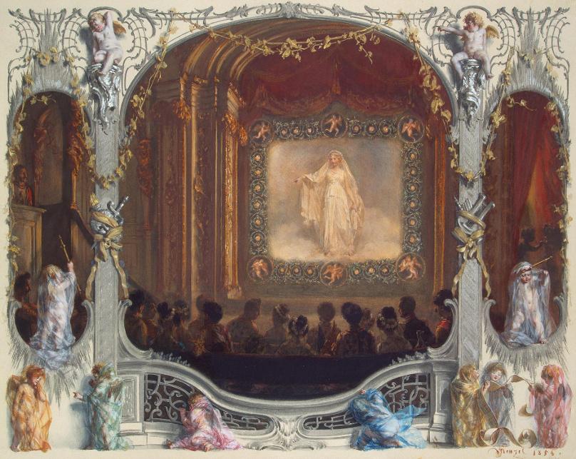 Fest der Weißen Rose 1829_Palais von Sanssouci