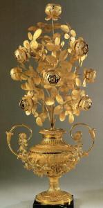Rosa d'oro offerta da papa Pio VII all'Imperatrice