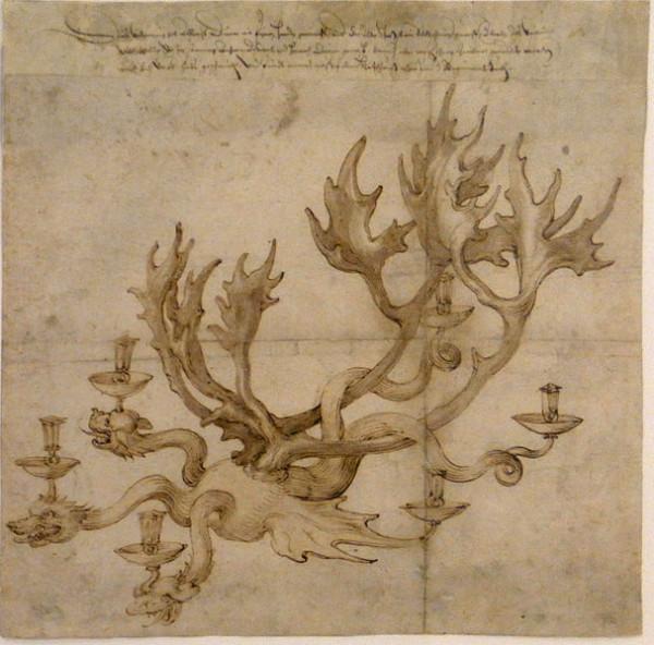 Geweihleuchter_Dürer