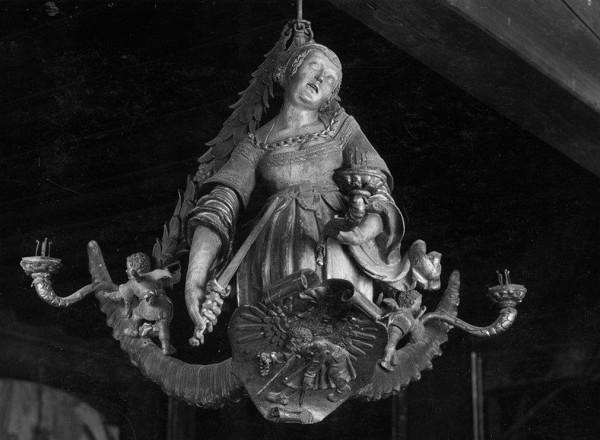 Lukrezia. Süddeutsch, um 1525. Sterzing, Rathaus