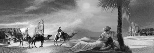 Пустыня Стихи Белая верблюдица Коллаж Фото Daniel Marquardt