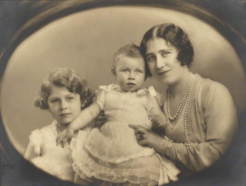 Queen Elizabeth II Princess Margaret Queen Elizabeth, the Queen Mother by Marcus Adams 1931