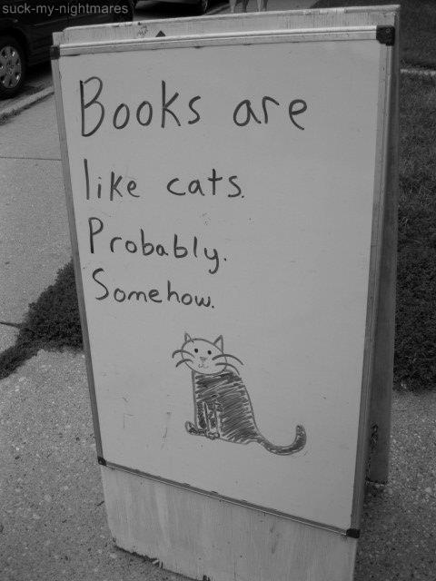 booksarelikecats