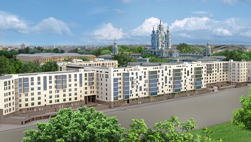"""...завершил монтаж 500 кв. м. деревянных окон в новом элитном жилом комплексе  """"Смольный парк """" по адресу ул..."""