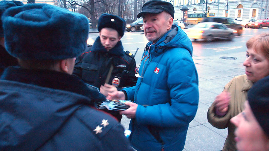 02 акции в Питере. 40 дней с убийства Бориса Немцова