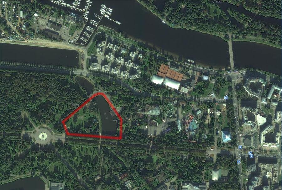 парк на Крестовском