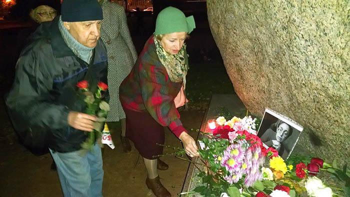 07.10.15 - памяти Анны Политковской. Петербург