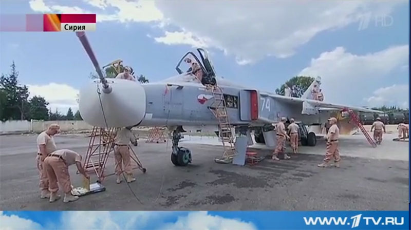 лысая резина! на российских бомбардировщиках в Сирии!