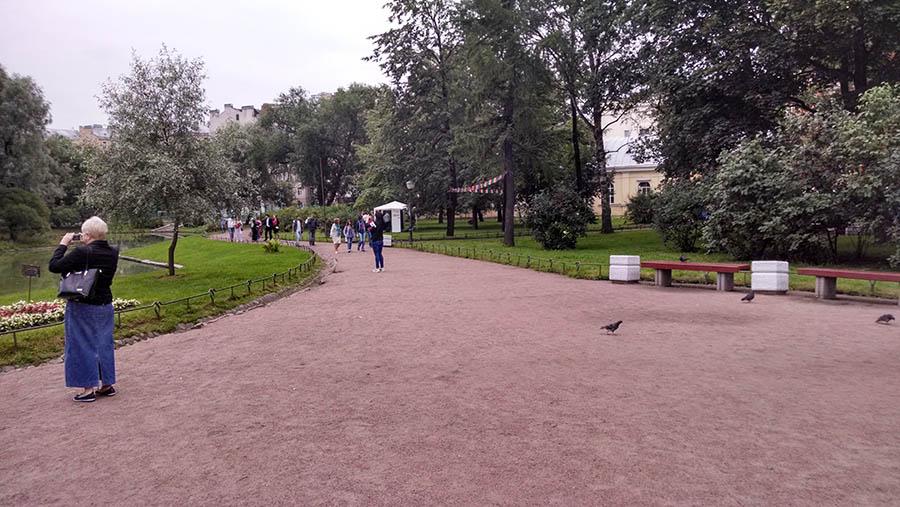 корпоратив РЖД в Юсуповском саду