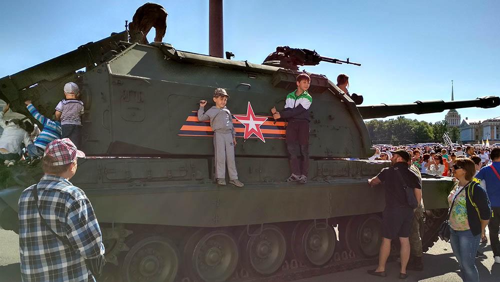 Питер. день военно-морского флота РФ