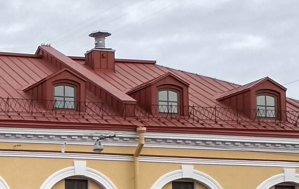 оборудование на крыша . Петурбург. Никольские ряды