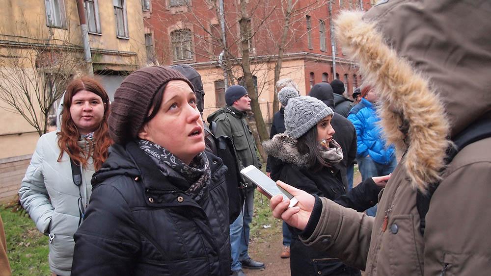 Петербург народный сход на Тележной