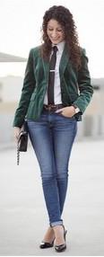 velvet and jeans