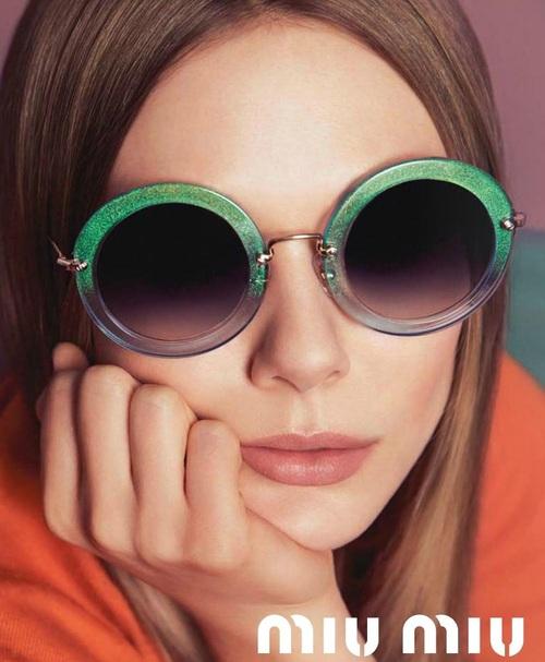 Elizabeth Olsen Miu Miu Sunglasses