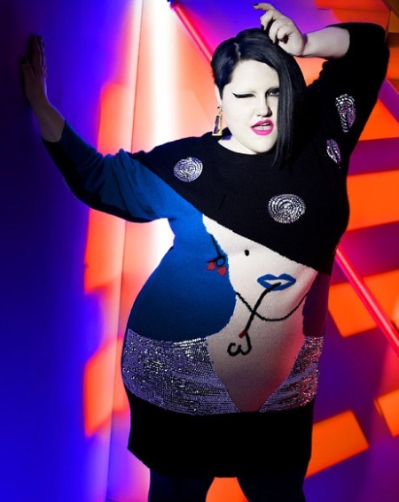 Plus-Size-Beth-Ditto-Fashion-Line-for-Evans