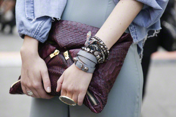 streetstyle peter stigter milaan clutch