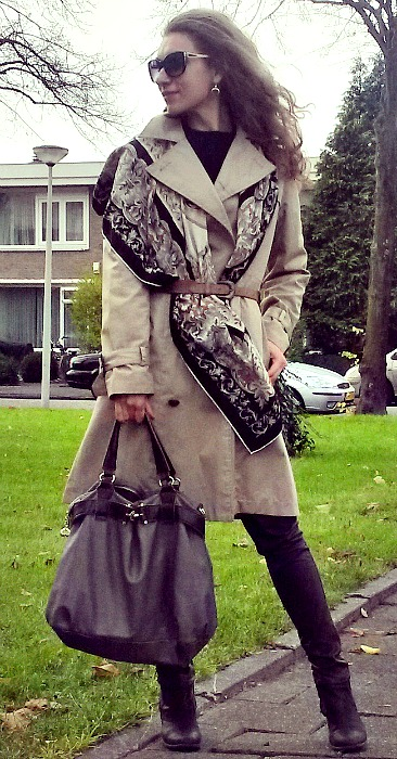 coat and shawl