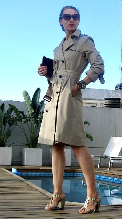 coat sandals