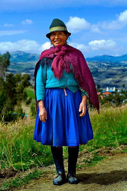Indigenous-Woman-Ecuador-Traditional-Dress