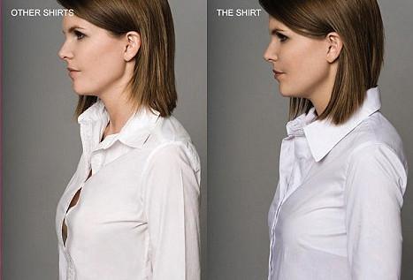 Фото груди в рубашке