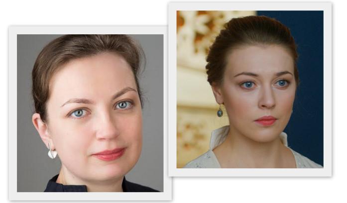 моя клиентка Юлия, имеющая немало общего с актрисой Александрой Никифоровой