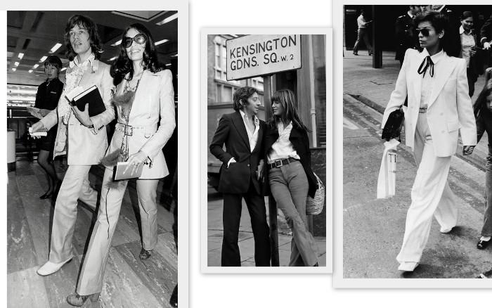 иконы стиля 70х — Бьянка Джаггер и Джейн Биркин