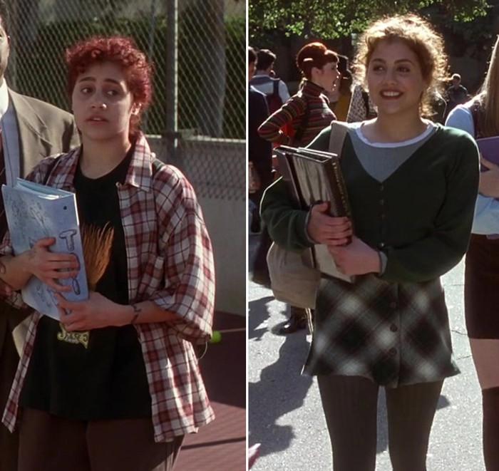 """трансформация героини в """"Без понятия"""" (1995), явно в противоположном направлении от того, что ей самой близко"""