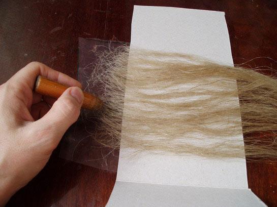 Тресс для волос своими руками