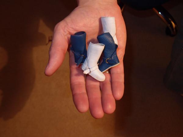 Сапоги для куклы своими руками барби