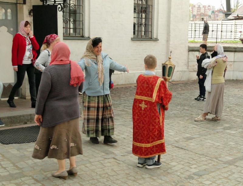 перед крестным ходом