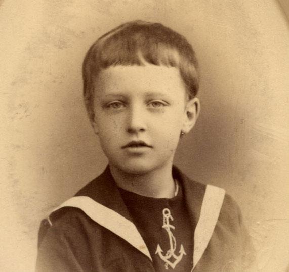 фото: Александр Блок в детские годы