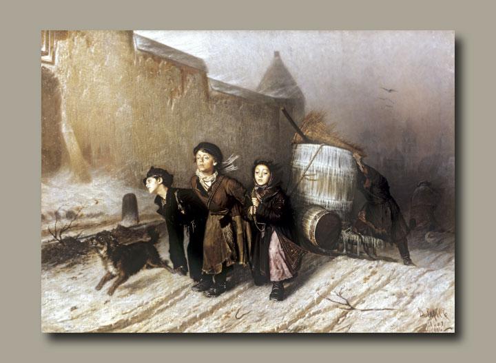 """В.Г.Перов """"Тройка"""" 1866"""