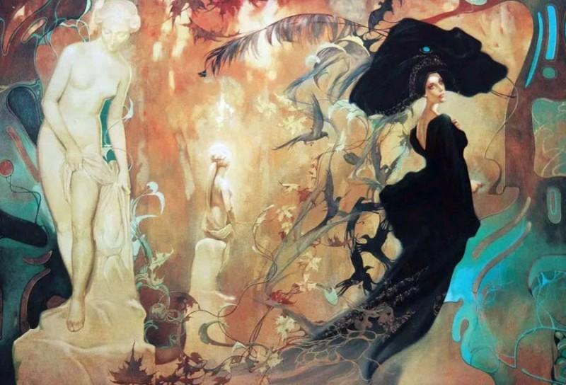 женские образы в живописи Светланы Валуевой