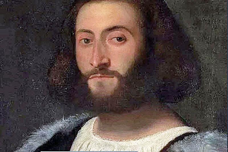 Людовико Ариосто  портрет  кисти Тициана
