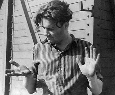 Эльдяр Рязанов в свои  19 лет