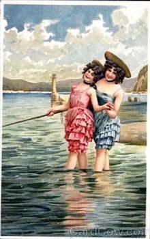 ретро-открытка
