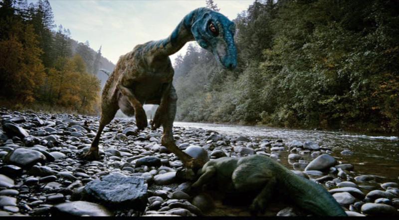 Фото: динозавр в интерьере