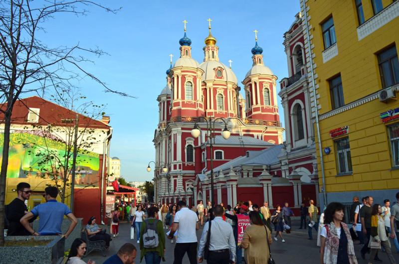 Москва, Климентовский переулок, Климентовская церковь