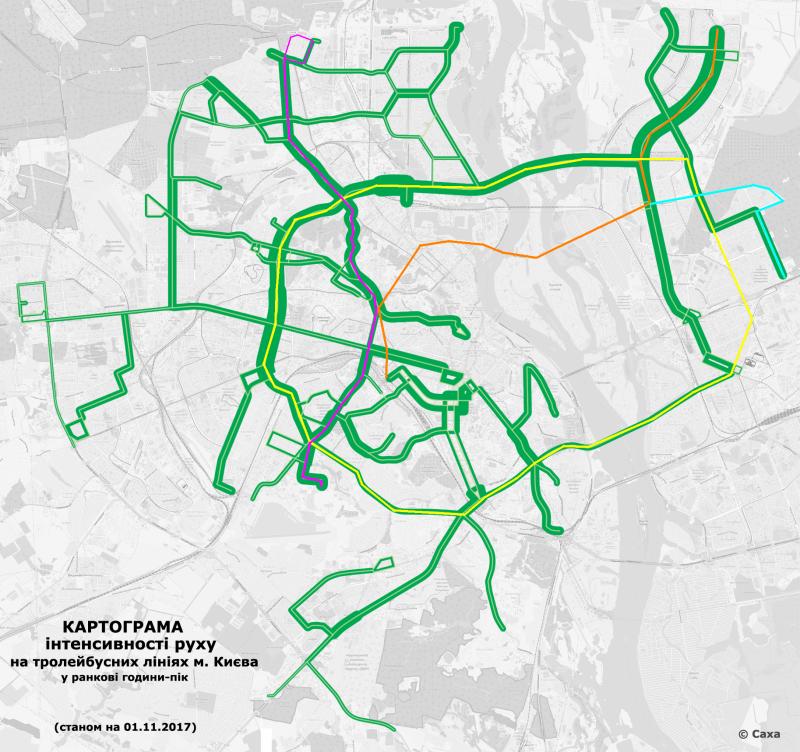 Метро на Троєщину та маршрути широких тролейбусів