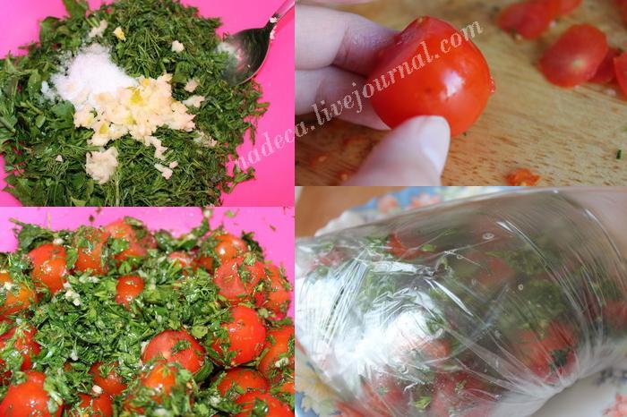 малосольные помидоры в пакете рецепт с фото
