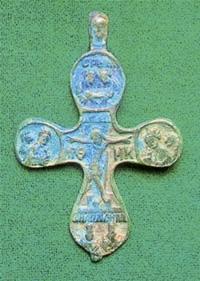 Нательный крест преп. Тимона
