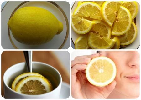 лимонный сок от черных точек