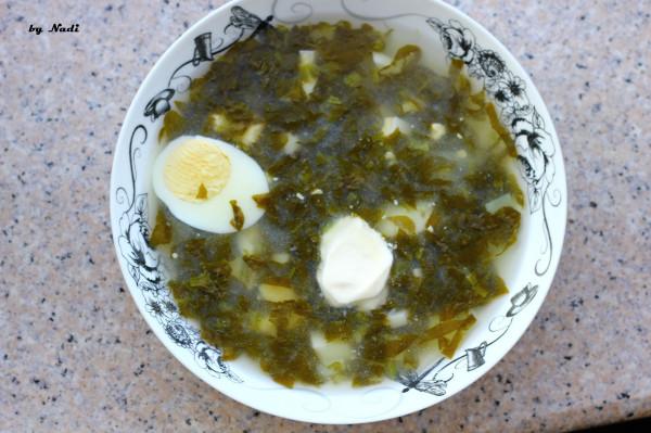 суп щавель