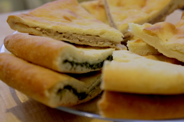 осет пироги
