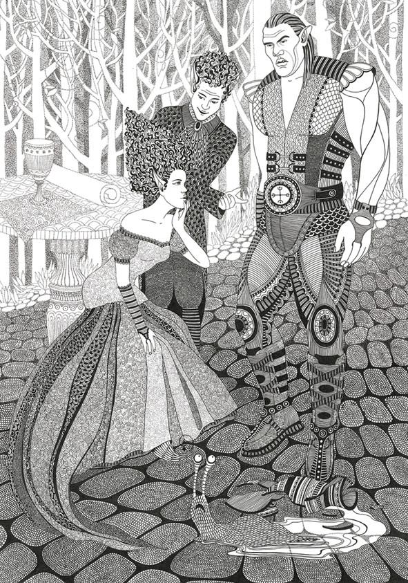 Иллюстрация к сказке Покои осени всегда пустуют (2)